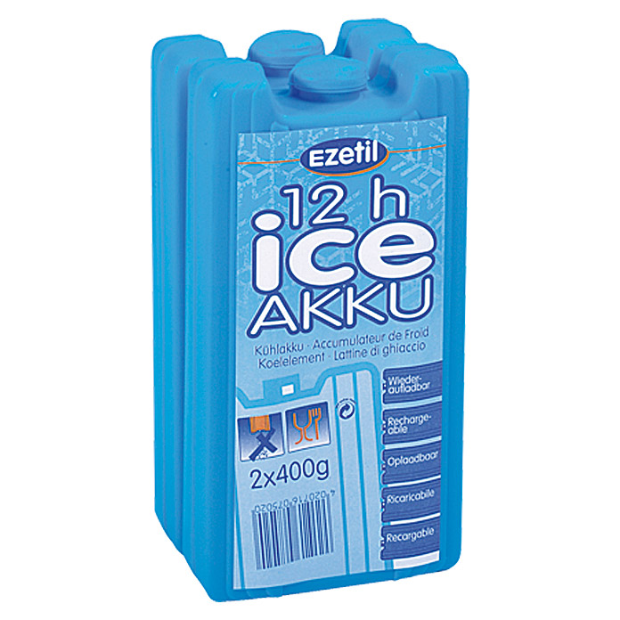 EZETIL ICEAKKU      2X400 g BLUE