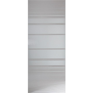 Diamond Doors Glasdrehtür Lines Flowing (709 x 1.972 mm, DIN Links)
