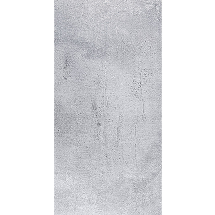 Feinsteinzeugfliese Manhattan Smoke (30 x 60 cm, Grau)