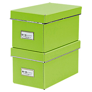 CD-Box-Set (Lime, 2 Stk.)