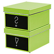 DVD BOX 2ER SET     LIME 28,5X21,5X15cm