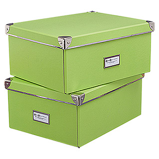 Universalbox-Set (Lime, 2 Stk.)