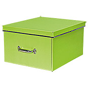 XL STORAGE BOX LIME 44X37X24cm