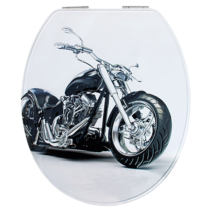 poseidon wc sitz metal plate harley mit absenkautomatik. Black Bedroom Furniture Sets. Home Design Ideas