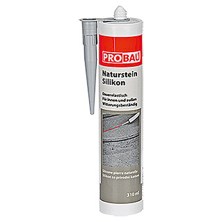 NATURSTEINSILIKON   TRANSPARENT  310ml  PROBAU