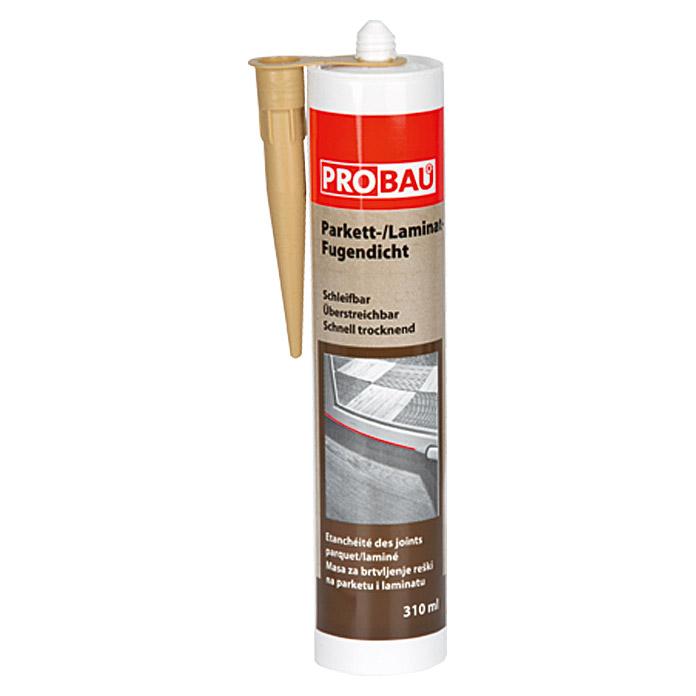 Probau Parkett-Laminat-Fugendicht (Esche, 310 ml)