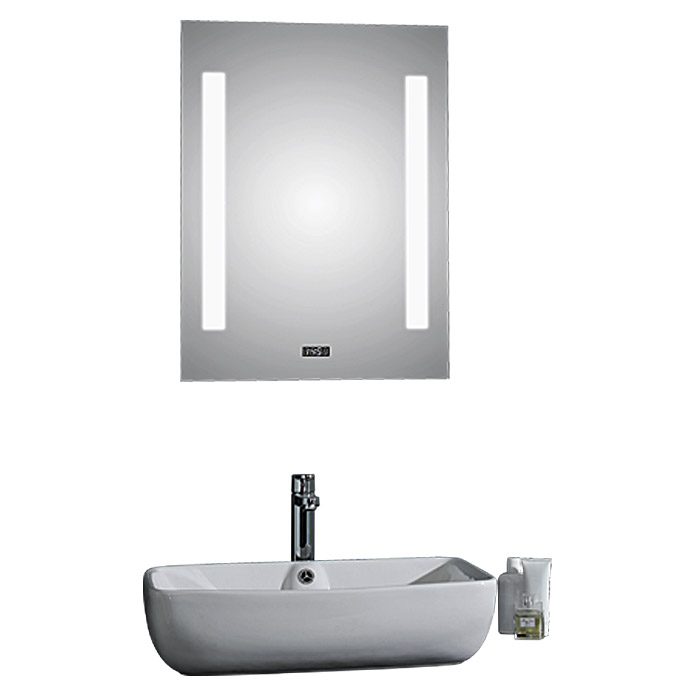 Led lichtspiegel crystal creek 50 x 70 cm for Fenetre 50 x 70