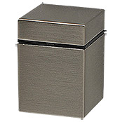 DL CLIP MINI CUBE   SET BRUSHED NICKEL