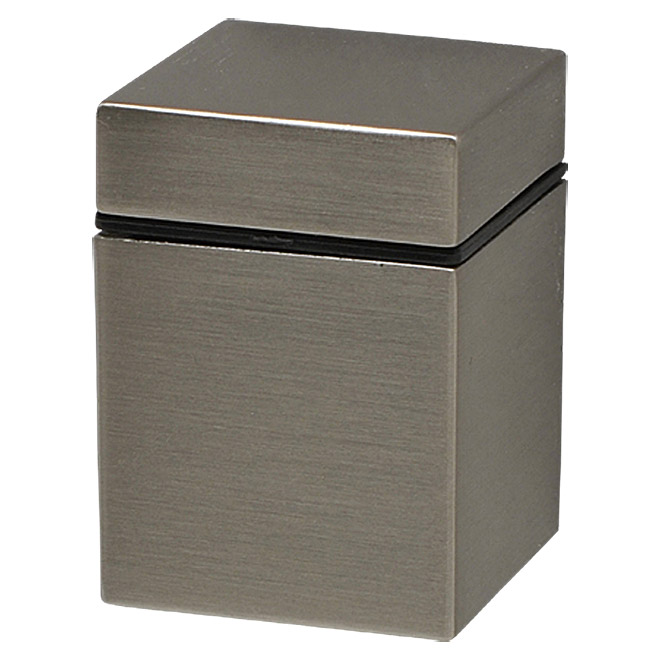 Duraline Modern Wandregalhalter-Set Mini Cube (Nickel)