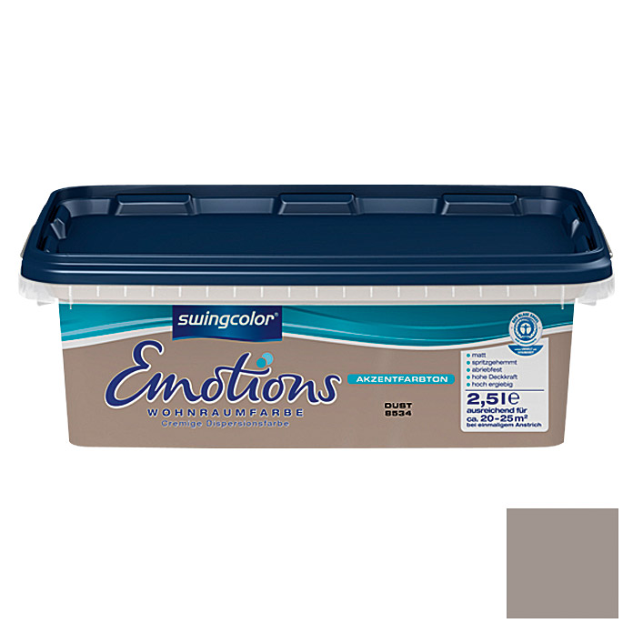 swingcolor Wohnraumfarbe Emotions (Dust, 2,5 l)