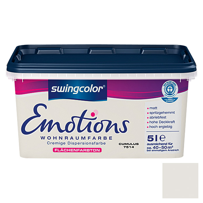 swingcolor Wohnraumfarbe Emotions (Cumulus, 5 l)