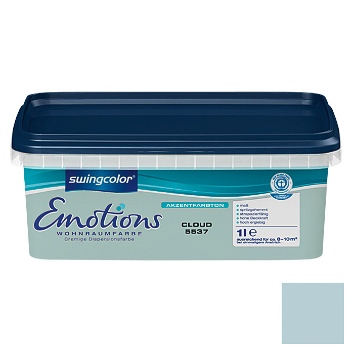 swingcolor Wohnraumfarbe Emotions (Cloud, 1 l)
