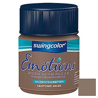 swingcolor Wohnraumfarbe Emotions Tester (Leather, 50 ml)