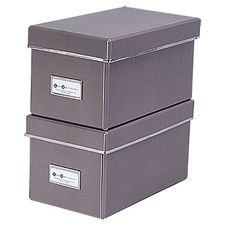 CD-Box-Set (Taupe, 2 Stk.)