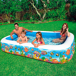 Intex Piscina hinchable Tropical Reef (305 x 183 x 56 cm, 1.020 l)