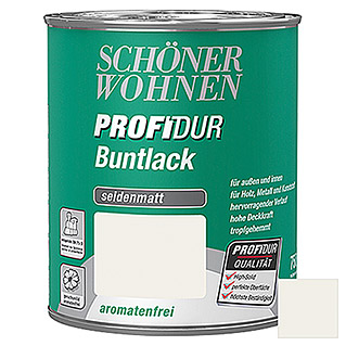 Schöner Wohnen ProfiDur Buntlack  (Reinweiß, 750 ml)
