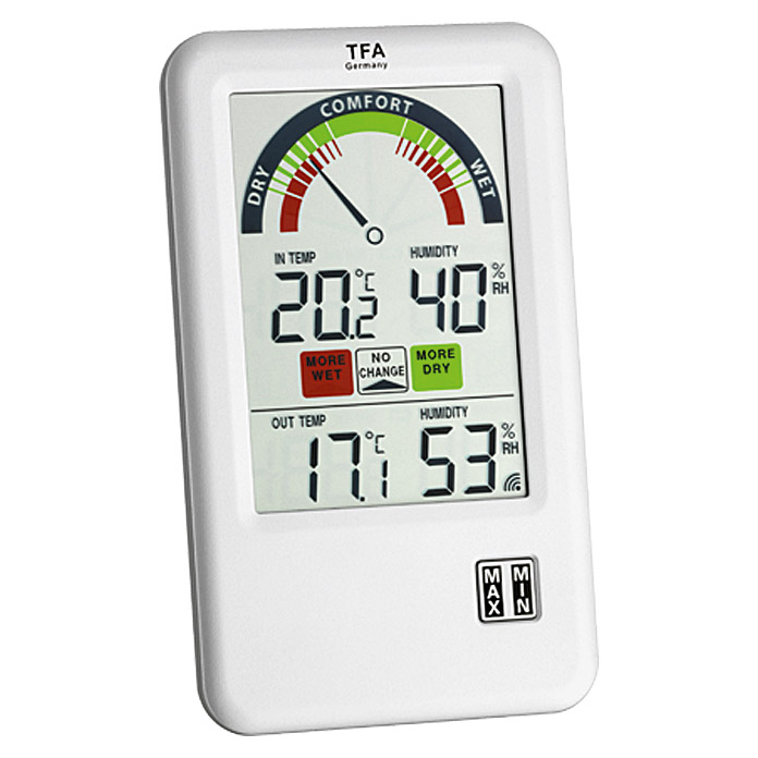 TFA Dostmann Funk-Thermo-Hygrometer Bel Air