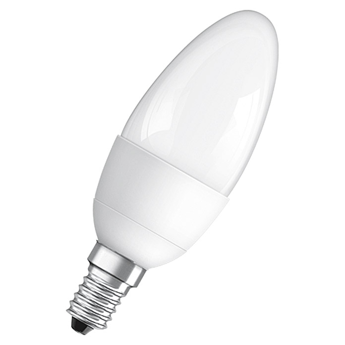 LED CLB5 6W         E14 WW MATT