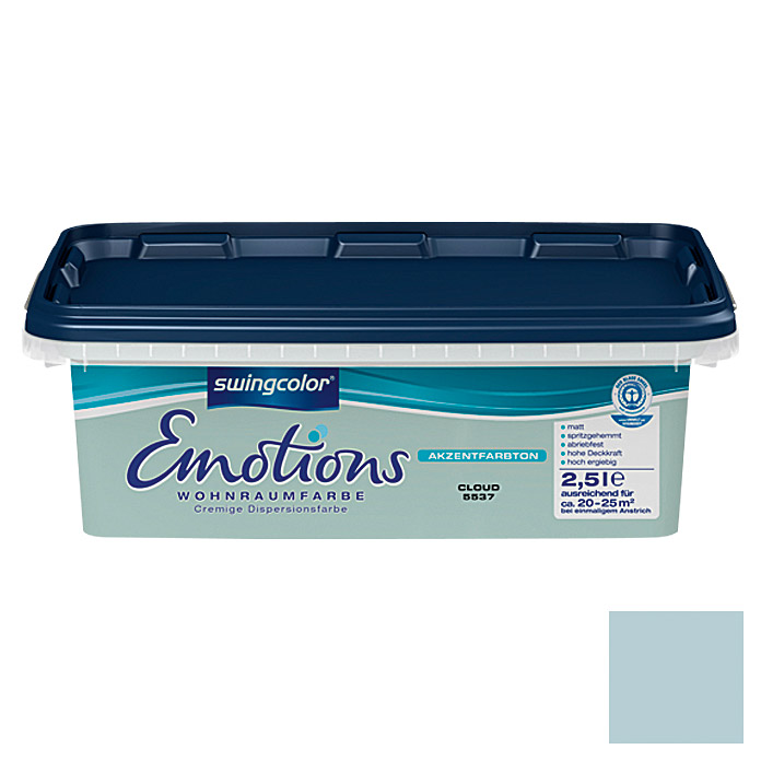 EMOTIONS MATT       2,5 l CLOUD         SWINGCOLOR