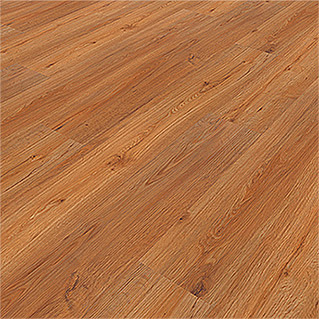 b!design Suelo de vinilo Clic roble natural (1.210 x 190 x 5 mm, Efecto madera)