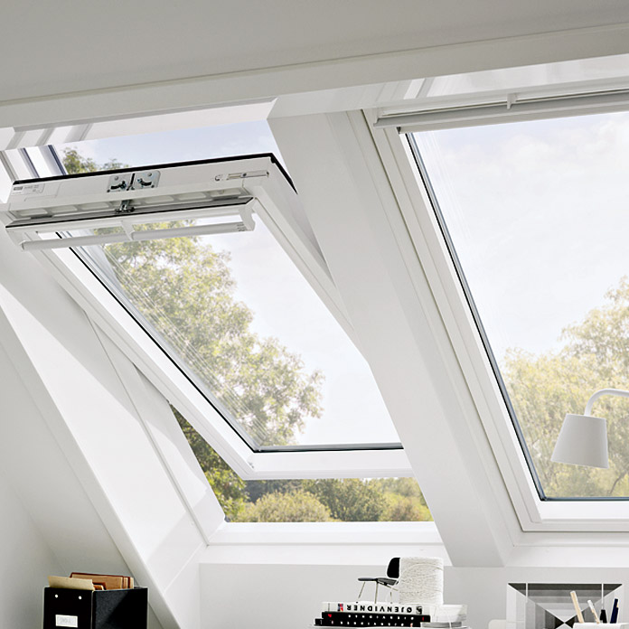 velux gpu sk08 velux ggu uk u white centre pivot integra. Black Bedroom Furniture Sets. Home Design Ideas