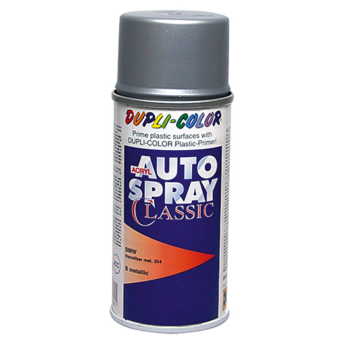 Dupli-Color Acryl-Autospray Classic (BMW, Titansilber Metallic, 150 ml)