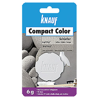 Knauf Putz-Abtönfarbe Compact Color (Schiefer, 6 g)