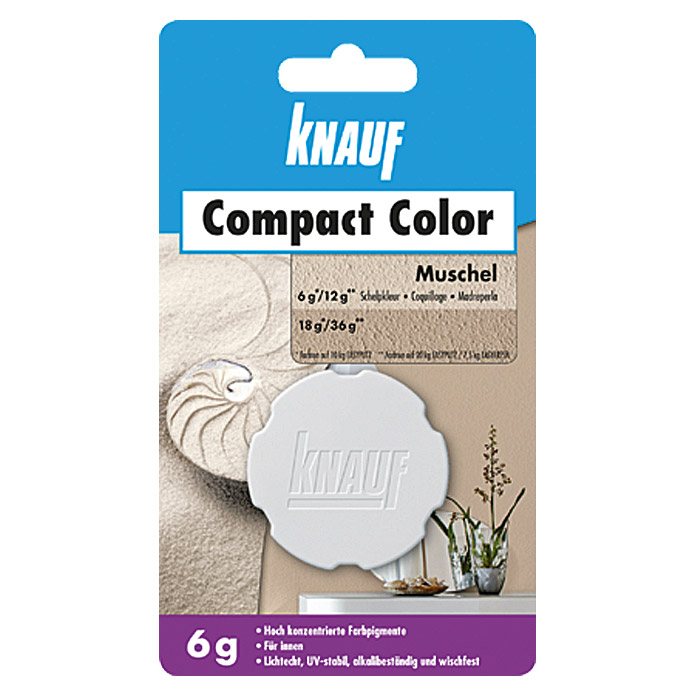 COMPACT   COLOR 6 g MUSCHEL             KNAUF