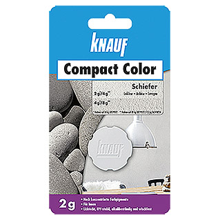 Knauf Putz-Abtönfarbe Compact Color (Schiefer, 2 g)