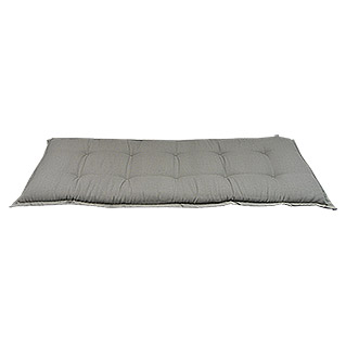 Sunfun Exclusive-Line Bankauflage (Taupe, 100 % Polyester, Länge: 140 cm)