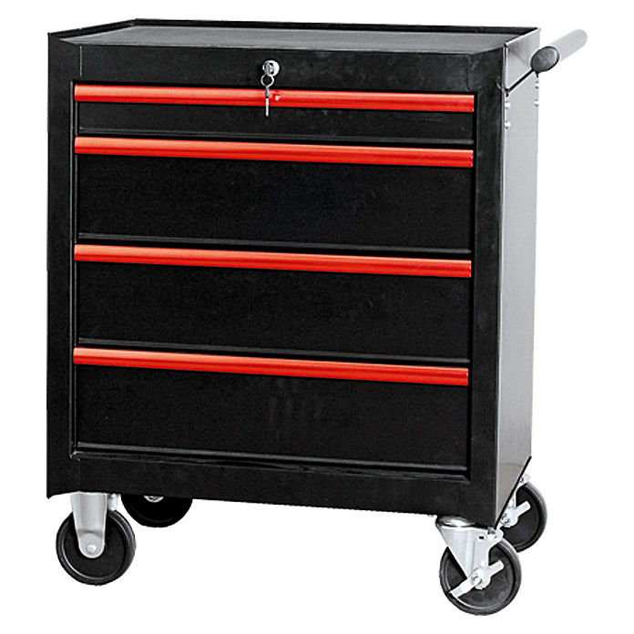 wisent werkzeugwagen red edition 459 x 678 x 780 mm metall bauhaus. Black Bedroom Furniture Sets. Home Design Ideas