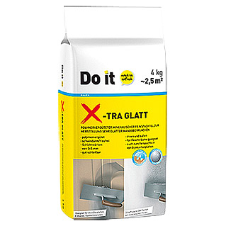 Do it X-TRA Feinspachtel Glatt (4 kg)