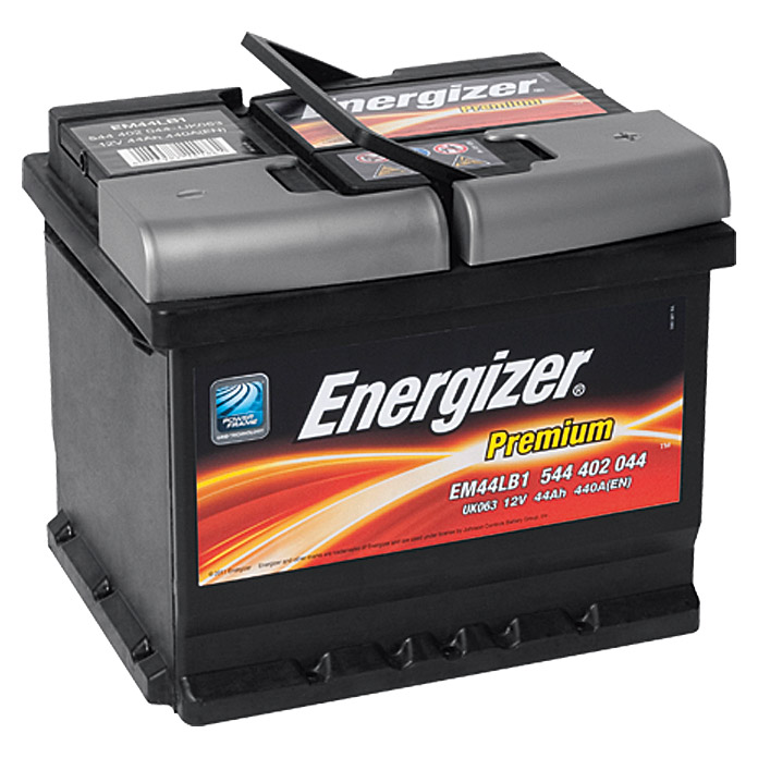 energizer autobatterie premium em44 lb1 44 ah 12 v. Black Bedroom Furniture Sets. Home Design Ideas