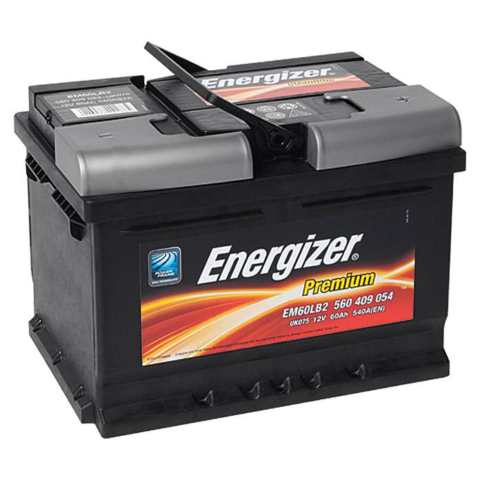energizer autobatterie premium em60 lb2 60 ah 12 v. Black Bedroom Furniture Sets. Home Design Ideas