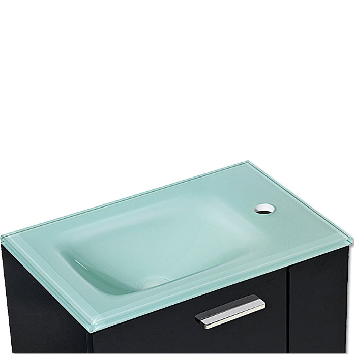 riva maximix waschtisch 33 x 50 cm glas aqua klar 3700 m bel g ste wc dadc moebel. Black Bedroom Furniture Sets. Home Design Ideas