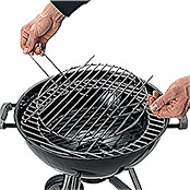 MODULGRILLROST F.   57cm KUGELGRILL     KINGSTONE