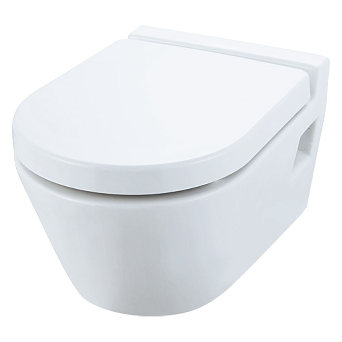 WC-SITZ EMPIRE WEISSDUROPLAST  M.SOFT  CLOSE