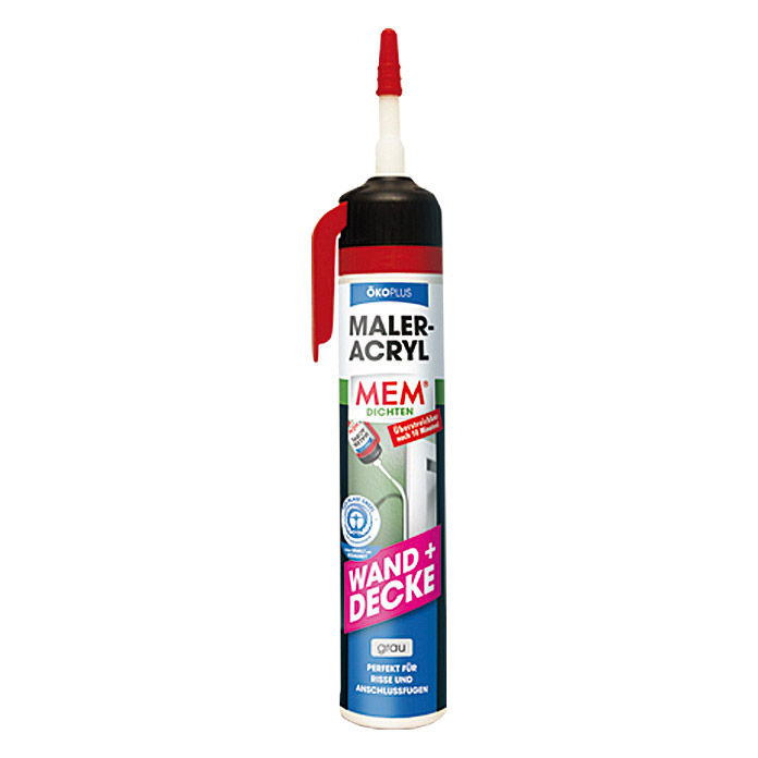 MALER-ACRYL OEKO-   PLUS GRAU 200 ml    MEM