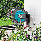 Gardena Portamangueras automático de pared Roll-up automatic (Longitud del tubo flexible: 25 m)
