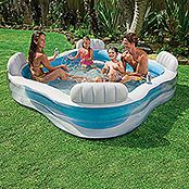 Intex Gartenpool Family Lounge (229 x 229 x 66 cm, 0,88 m³)