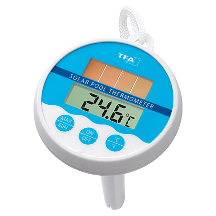 SOLAR-POOLTHERMOMETER DIGITAL
