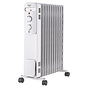 OELRADIATOR 2300W   11 RIPPEN WEISS     VOLTOMAT H