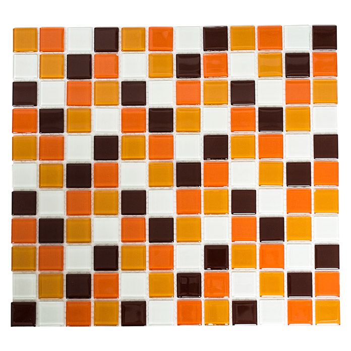 Mosaikfliese Quadrat Crystal Mix CM 4270