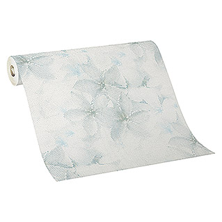 Guido Maria Kretschmer Fashion for walls Vliestapete (Blau, Floral, 10,05 x 0,53 m)