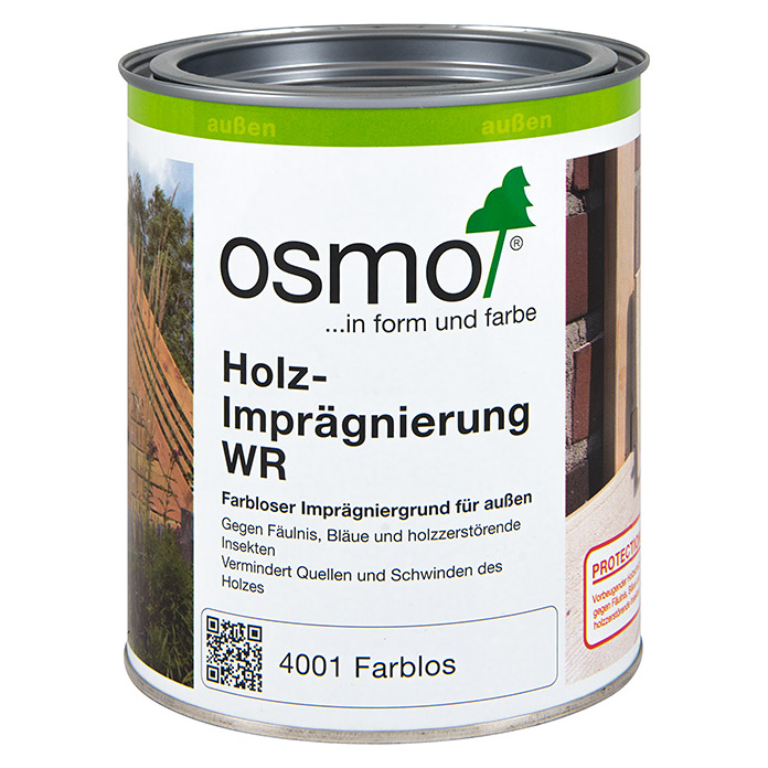 osmo holz impr gnierung wr 750 ml farblos 5938 grundierungen lh hadj holzschutz had. Black Bedroom Furniture Sets. Home Design Ideas