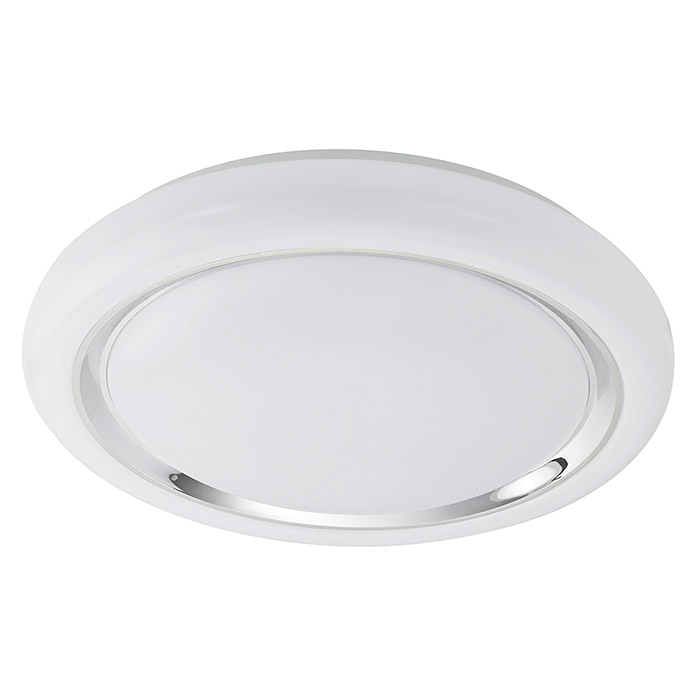 LED-DL Ø400 WEISS/CHROM 'CAPASSO'