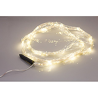 Tween Light LED-Lichterkette Angel Hair (Innen, 360-flammig, Kabellänge: 1,9 m, Warmweiß)