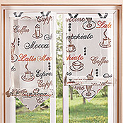 HOME Fashion Bändchenrollo Cafe (60 x 140 cm, 100 % Polyester, Creme)