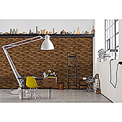 AS Creation Vliestapete Move Your Wall (Braun, 3D-Optik, Grafisch, 10,05 x 0,53 m)