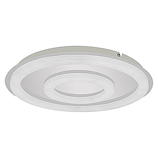 Tween Light LED-Deckenleuchte Atella (36 W, Warmweiß, Chrom)